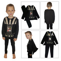 Star Wars Childs Darth Vader Pyjama Set With Cape & Sound Effects Kids Nightwear