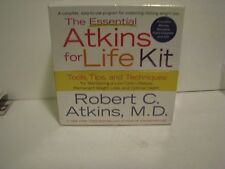 Essential Atkins for Life Kit Sealed NIP w/CD Tools Tips