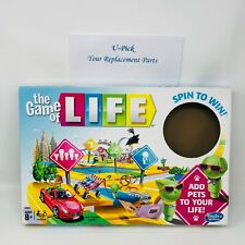 U-Pick Game Of Life Board Game Replacement Parts Pieces Hasbro 2017