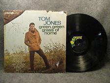 33 RPM LP Record Tom Jones Green Green Grass Of Home Parrot Records PAS 71009