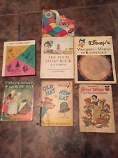 Lot of 7 children's books assorted titles Disney Dr. Seuss