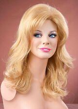 Forever Young Honey Blonde Long Volumised Wavy Layered Wig UK Fashion Wigs