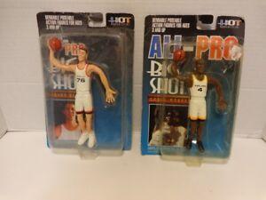 All-Pro Big Shot NBA Chris Webber & Shawn Bradley Bendable Action Figures