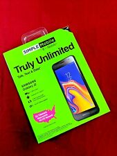 """SIMPLE MOBILE SAMSUNG GALAXY J2 4G LTE 5""""qHD SCREEN ANDROID 8.1 NEW/SEALED"""