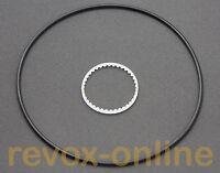 Riemen-Satz, Zahnriemen Antriebsriemen Zählwerk Revox A77 toothed counter belt