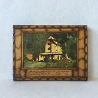 Vintage Carved Wooden 10 Cigarettes Box Holder Vrnjačka Banja Serbia