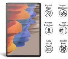 For Samsung Galaxy Tab S7 Clear Tempered Glass Case-Friendly Screen Protector 9H