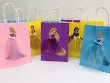 8 * princesa Sorpresa Fiesta Bolsas/Cenicienta, Bella, Snowwhite, Ariel, Rapunzel