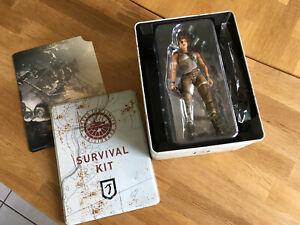 Lara Croft Action Figur - Tomb Raider - inkl. Survival Kit Collectors Box *rar*