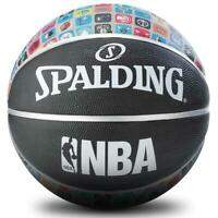 NBA Designer - Logo Icons Size 7 Outdoor Basketball From Spalding