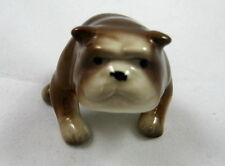 Hagen Renaker miniature Made in America Bulldog style one retired
