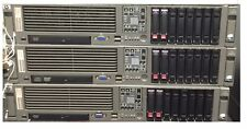 LOT OF 20 HP PROLIANT DL380 G5 SERVER 2.8GHz QUAD CORE 16GB 2X 146GB SAS P400