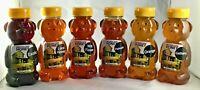 12 oz Honey Bears Florida Sampler 6 12 oz Honey Bears Completely Raw All Natural