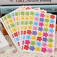 400pcs Smile Stars Decal School Children Teacher Label Reward Cute Sticker New