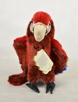 Folkmanis Hand Puppet Scarlet Macaw Parrow 2352 Full Body Push Toy