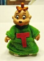 1984 Ideal Theodore Chipmunk Figure with Clothes - Alvin & Chipmunks - Vintage