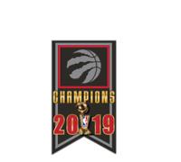 TORONTO RAPTORS - 2019 NBA CHAMPIONS - LAPEL/HAT PIN - BRAND NEW NBA-2552-PN-15
