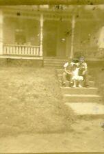 Vintage B&W Photos 1 1/2 X 1 3/4  lot 7 Family Pics Little Rock names on back
