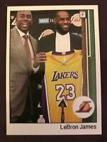 Lebron James / Magic Johnson Welcome to the Lakers !