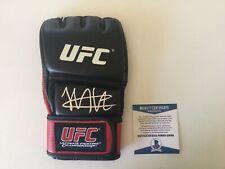 Khabib The Eagle Nurmagomedov Signed Autographed UFC Glove BECKETT BAS COA f