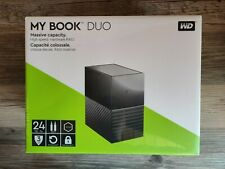 Western Digital My Book Duo 24TB - Externe Raid Festplatte - 3,5 Zoll - Neu