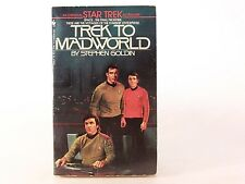 Good! Trek to Madworld: A Star Trek Novel: by Stephen Goldin (PB)