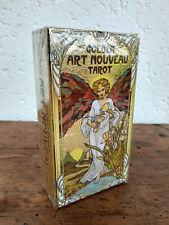 Jeu de cartes Tarot divinatoire Golden art nouveau neuf en Francais + livret