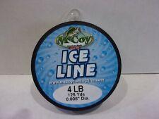 McCoy Ice Line 4 lb test 125 yards green Nip