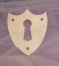 entrée de clé écusson en laiton 45X38 mm