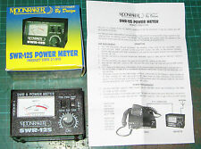 SWR125 POWER METER FOR CB 26 - 30 MEG MOONRAKER SWR125 100 WATTS