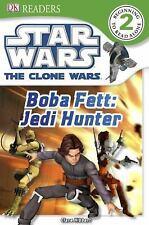 DK Readers L2: Star Wars: The Clone Wars: Boba Fett, Jedi Hunter-ExLibrary