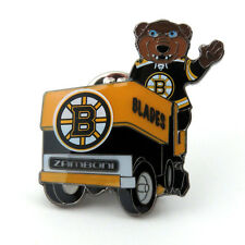 Boston Bruins Mascot on Zamboni Lapel Pin