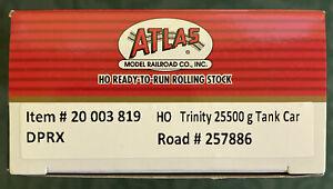 Atlas DPRX Trinity 25,500 Gallon Tank Car
