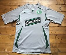Glasgow Celtic FC Silver Training Shirt. 2007 Nike. Carling. Size: S Adult