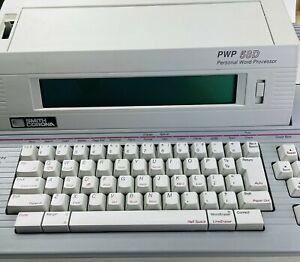 Smith Corona PWP 58D Typewriter + 3.5 Floppy Disc Word Processor TESTED EUC