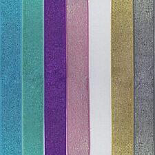 Waistband glitter elastic
