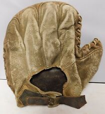 Marathon Vintage 1950's Original MLB Baseball Right Handed Catchers Mitt Glove