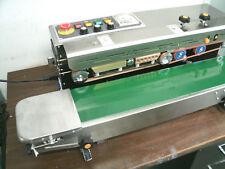110v Horizontal Frd 1000s Continuous Band Sealerampink Coder Machine