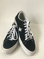 MENS ALL STAR CONVERSE CHUCK TAYLOR NAVY SUEDE LEATHER TRAINERS/SHOES SIZE UK 9