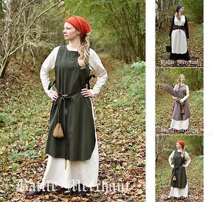 Battle Merchant Überkleid Klara Mittelalterkleid Mittelalter-Kleid LARP S-XXL
