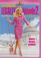 Legally Blonde 2: Red, White and Blonde DVD, 2003  Reese Witherspoon Sally Field
