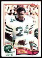 1982 Topps Freeman McNeil B RC #176