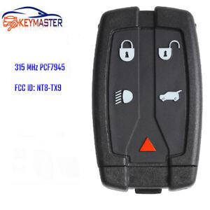 2x for Land Rover LR2 2008-2012 Keyless Entry 433MHz Remote Car Key Fob NT8TX9