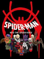 Spider Man - Into the Spider Verse 12pc Custom Lot - USA SELLER
