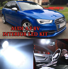 AUDI A3 8V 2012+ UPGRADE INTERIOR XENON WHITE LED BULBS ERROR FREE LIGHT SET