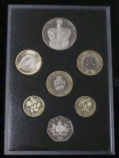 2013 Royal Mint Proof 7-Coin Commemorative Edition Set with both Underground £2