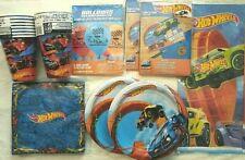 Hot Wheels Wild Racer Birthday Party Supply DELUXE Kit w/ Balloons & Invites
