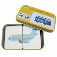 Anti-tear Flash Cards Learning Alphabet Puzzle Cards, Matching Puzzle Co T5B3