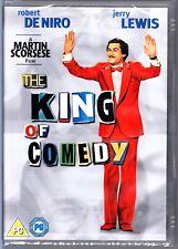 THE KING OF COMEDY (1982) DVD Robert De Niro Region 4 (AUS) New & Sealed