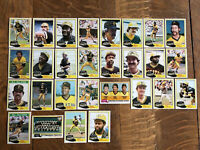 1981 PITTSBURGH PIRATES Topps COMPLETE MLB Team Set 28 Cards STARGELL PARKER AS
